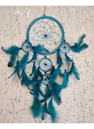 Arte Casero Düş kapanı, Rüya kapanı, Dream Catcher 17cm Turkuaz Turkuaz